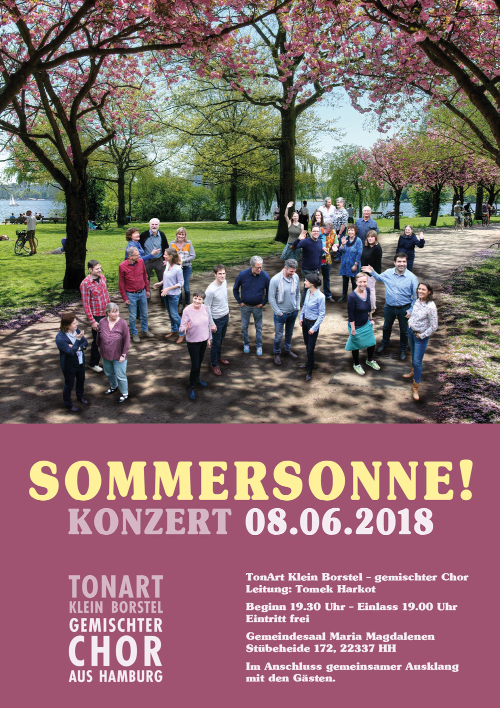 Konzert Sommer 2018